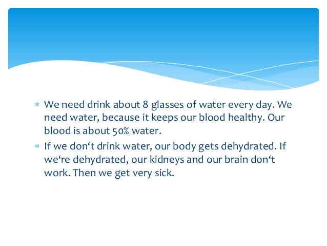 WATER IS LIFE Slide 3