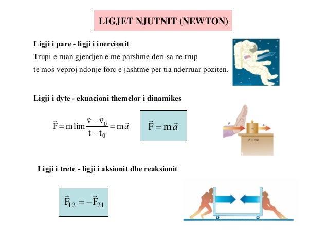 Pesha e trupit gjithashtu është forcë dhe matët me njutën.                              G=mg, ku: G - forca e gravitetit, ...