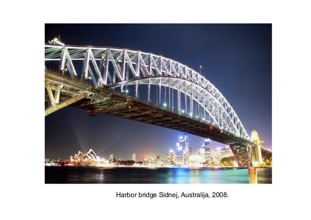 Harbor bridge Sidnej, Australija, 2008.