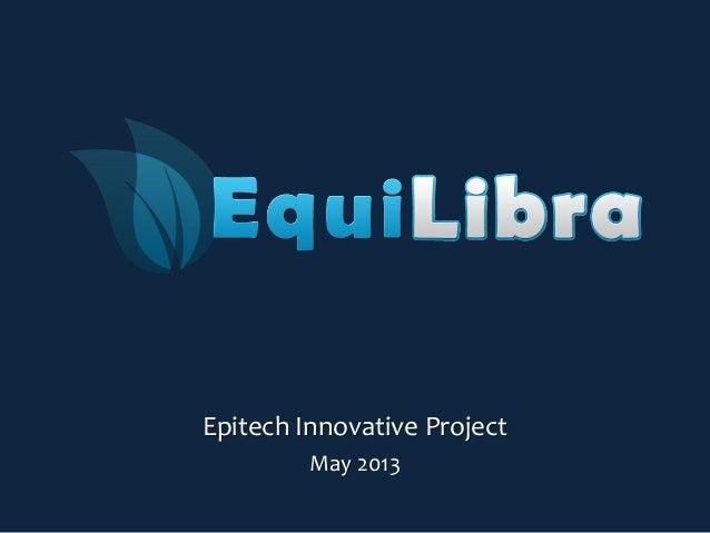 Epitech Innovative ProjectMay 2013