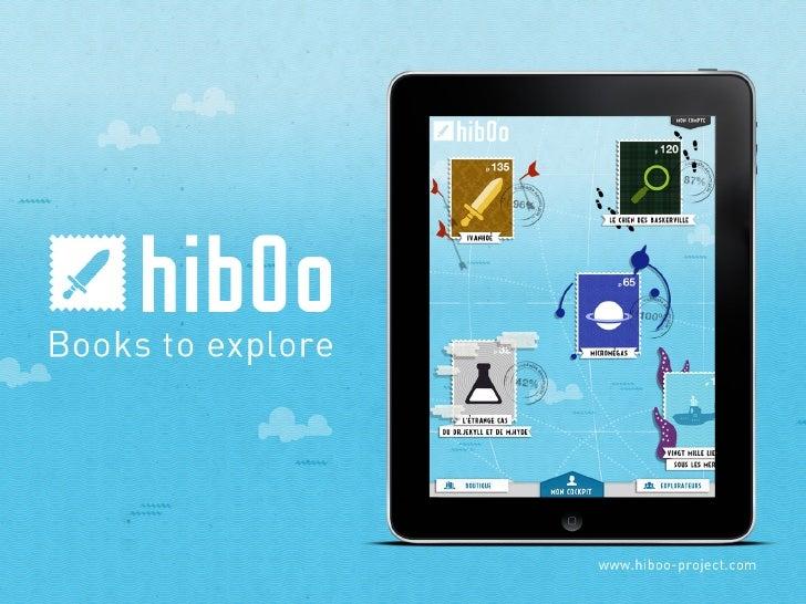 Présentation - Hiboo, des livres à explorer