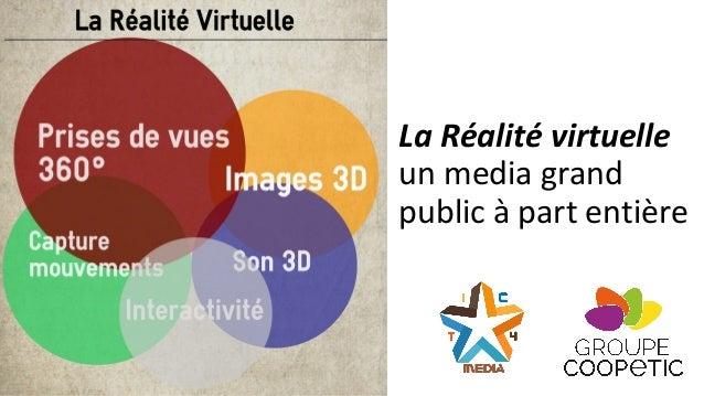 La Réalité virtuelle un media grand public à part entière