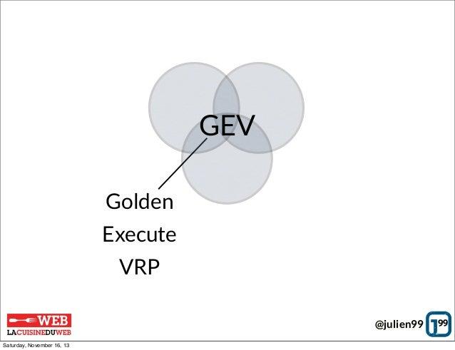 GEV Golden Execute VRP @julien99 Saturday, November 16, 13