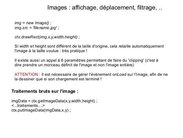 HTML5 - Introduction à la balise canvas