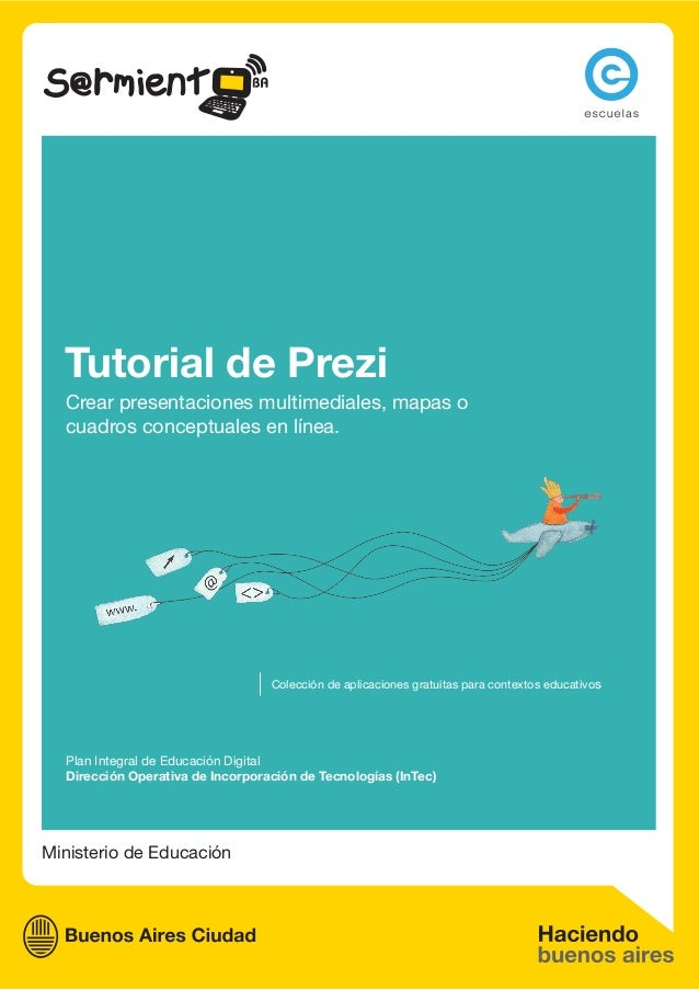 Ministerio de EducaciónPlan Integral de Educación DigitalDirección Operativa de Incorporación de Tecnologías (InTec)Colecc...