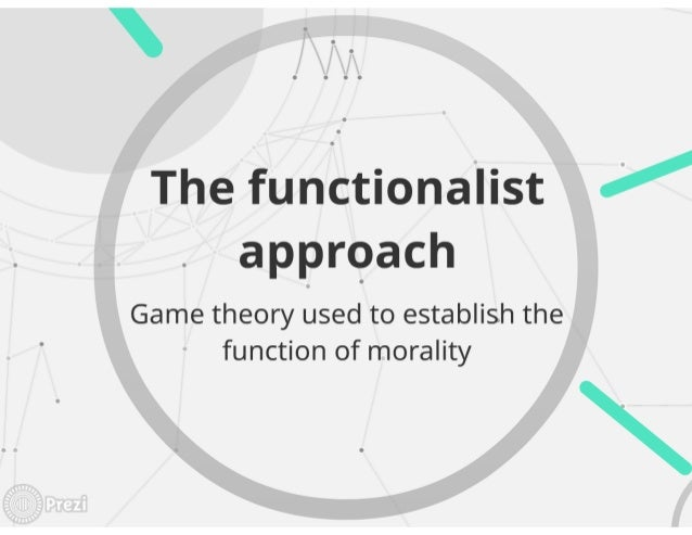 Game theory applied to ethics