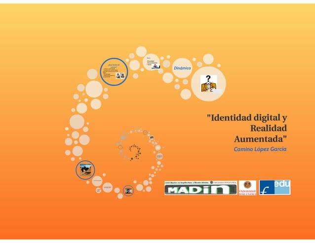Identidad Digital y Realidad Aumentada