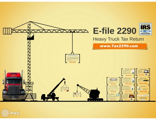 Form 2290 tax returns electronic filing at Tax2290 Slide 3