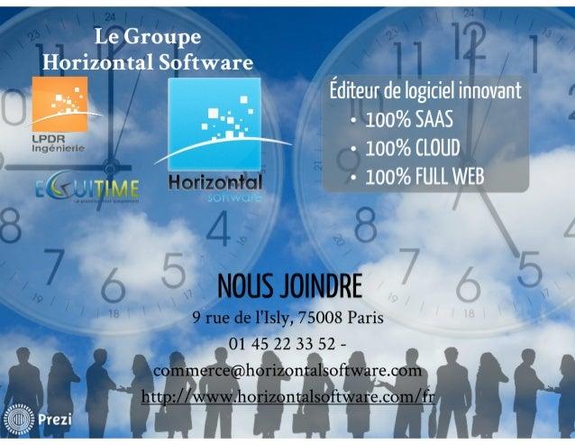Logiciel gestion des temps et activités
