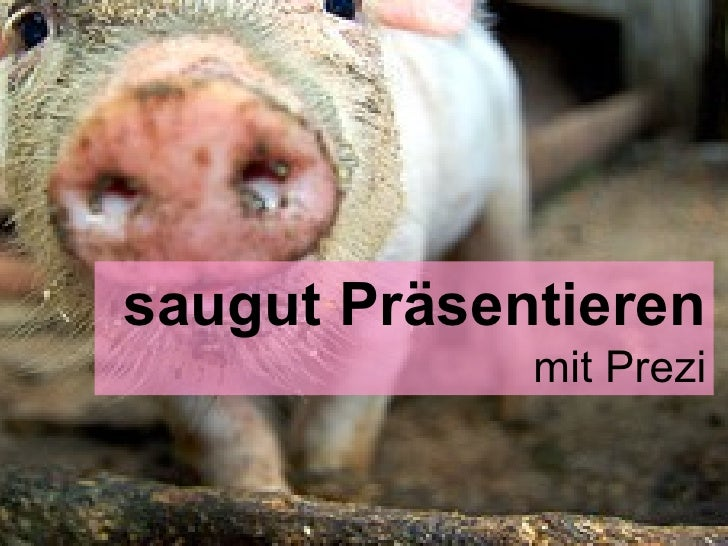 und eines ist sicher Man fühlt sich  saugut Präsentieren mit Prezi Fotolia.com