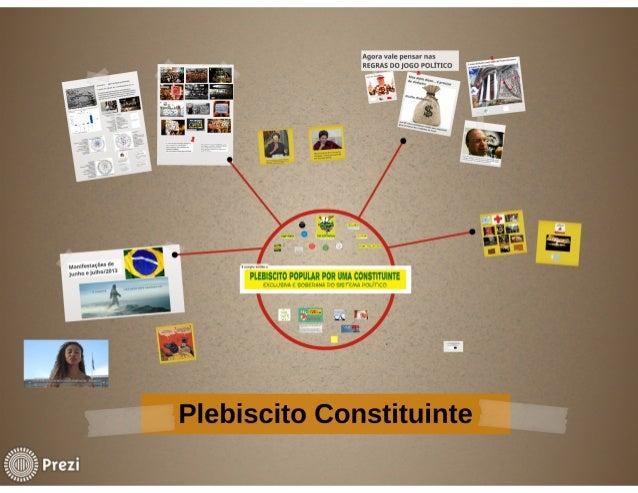 Plebiscito Popular por uma Constituinte Exclusiva e Soberana do Sistema Político