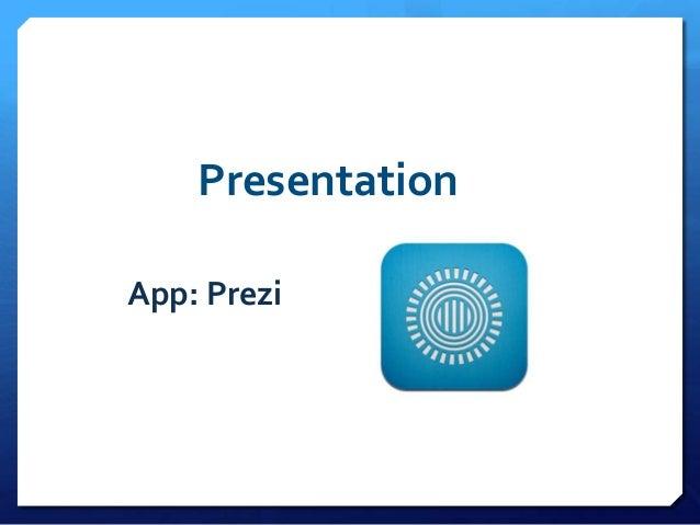 PresentationApp: Prezi