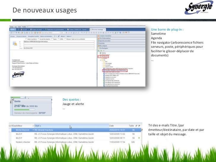 D 233 Couvrir La Collaboration Avec Ibm Lotus Notes Quickr