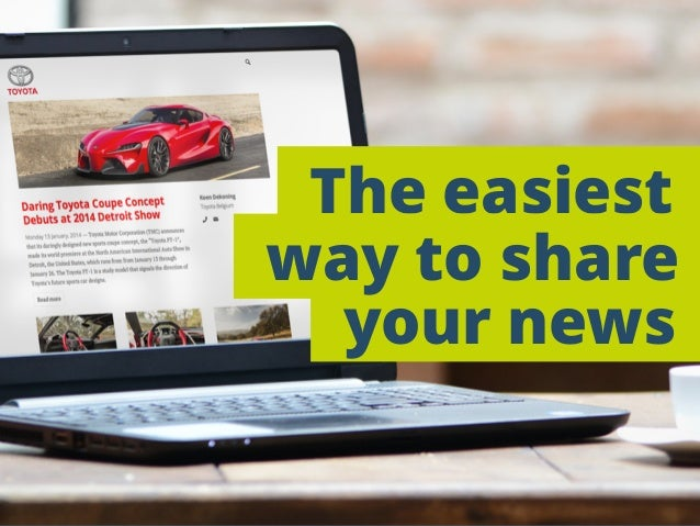 The easiest your news way to share