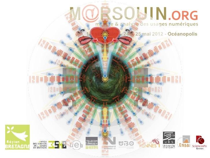 10e séminaire – 24 & 25 mai 2012 - Océanopolis