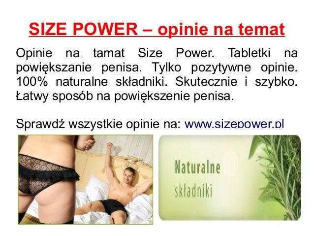 SIZE POWER – opinie na temat Opinie na tamat Size Power. Tabletki na powiększanie penisa. Tylko pozytywne opinie. 100% nat...
