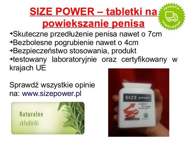 SIZE POWER – tabletki na powiekszanie penisa Skuteczne przedłużenie penisa nawet o 7cm ➔Bezbolesne pogrubienie nawet o 4cm...