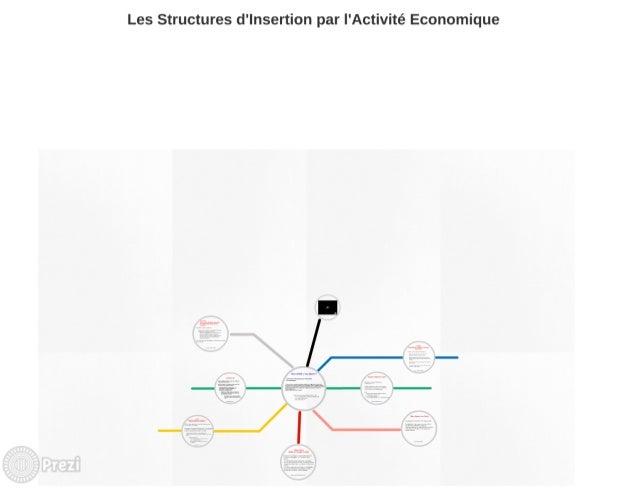 Prez Structure de l'insertion par l'acitivité économique