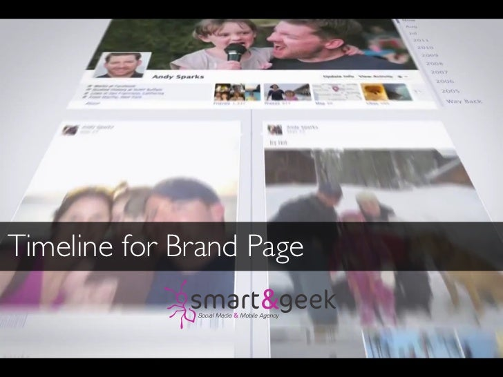 Timeline for Brand Page