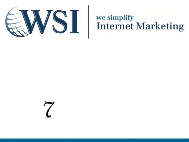 Marketing internet PME Les   péchés capitaux