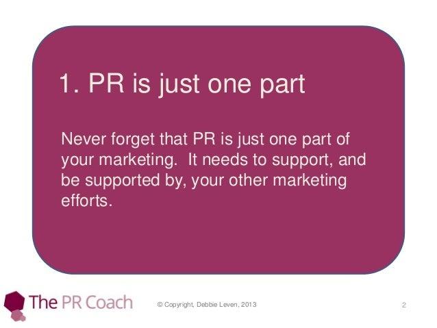 PR for Startups Slide 2