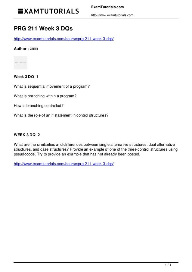 Exam Questions and Concepts