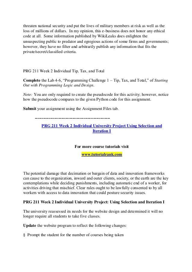 PRG 211 Innovative Education/tutorialrank com