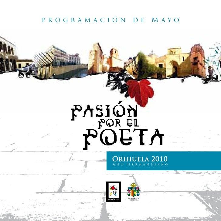 programación   de   Mayo