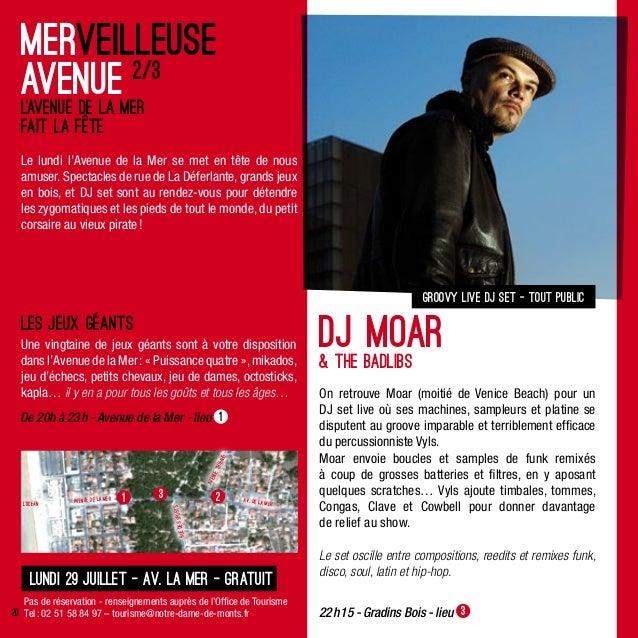 On retrouve Moar (moitié de Venice Beach) pour unDJ set live où ses machines, sampleurs et platine sedisputent au groove i...