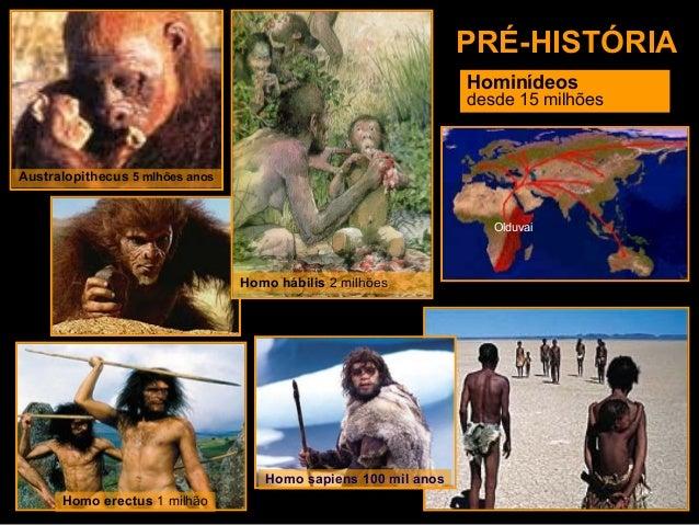 Pré História [A Origem] Slide 3