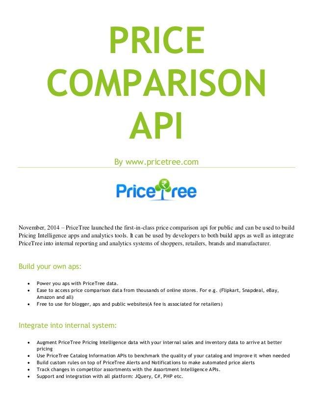 64ecd04e82db Price comparison api by PriceTree