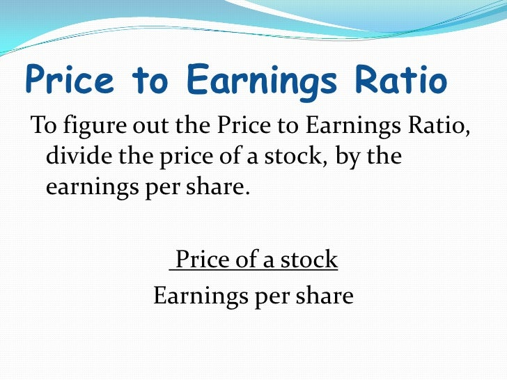 price earnings ratio As others have already touched, p/e is traditionally high, due to expected future earnings growth if we take a look at amazon's historical p/e: we can see that the p/e has been very high, and still is very high.