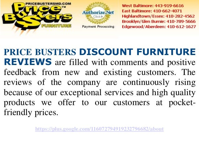 Price busters discount furniture reviews for Affordable furniture reviews