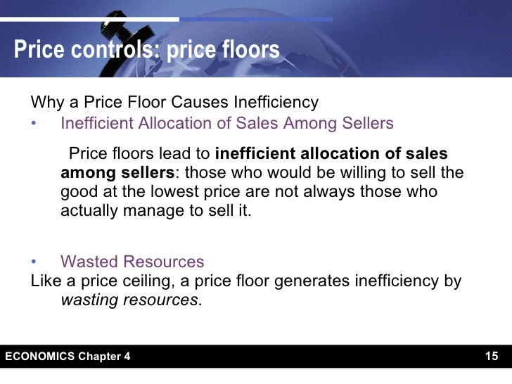 Price Controls: Price Floors ...