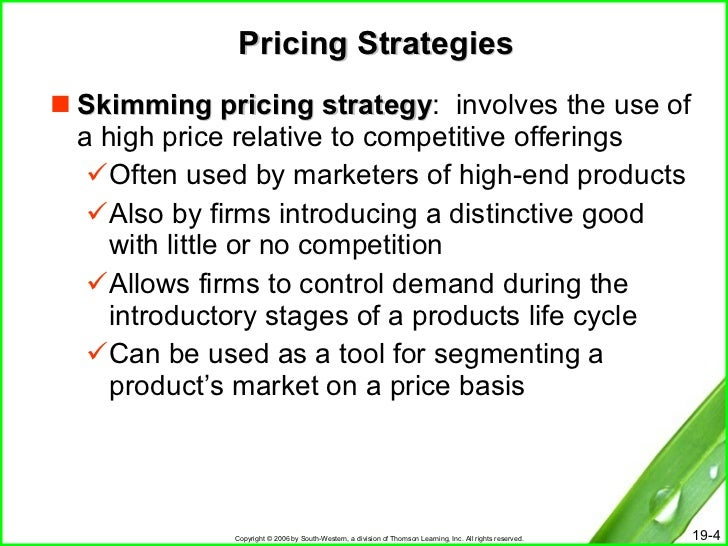 how a firms pricing policy relate to the products life cycle Product life cycle: the process wherein a product is introduced to a market, grows in popularity, and is then removed as demand drops gradually to zero stages in the product lifecycle there are four stages in the product life cycle: introduction, growth, maturity, and decline.