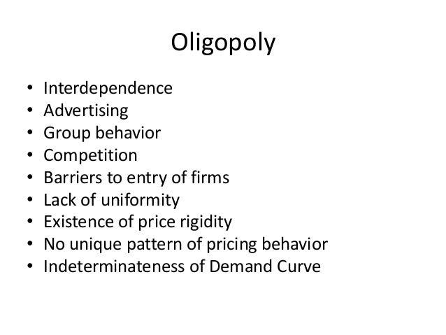price determination under oligopoly pdf