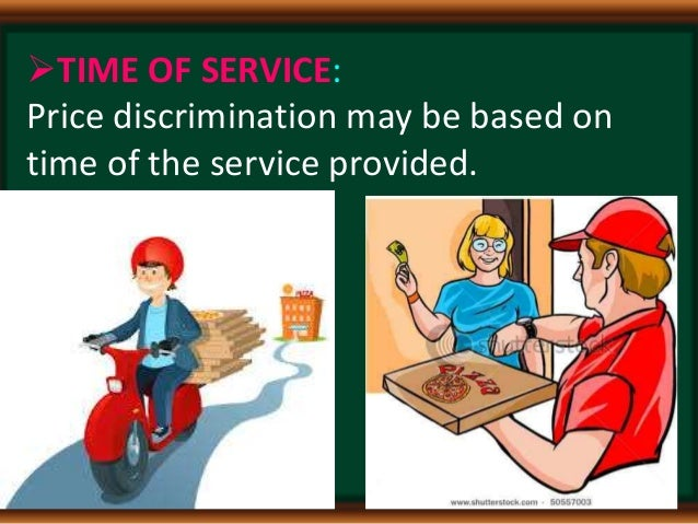 price discrimination and the basis of price discrimination The policy of price discrimination refers to the practice of a seller to charge different prices for different customers for the same commodity, produced under a.