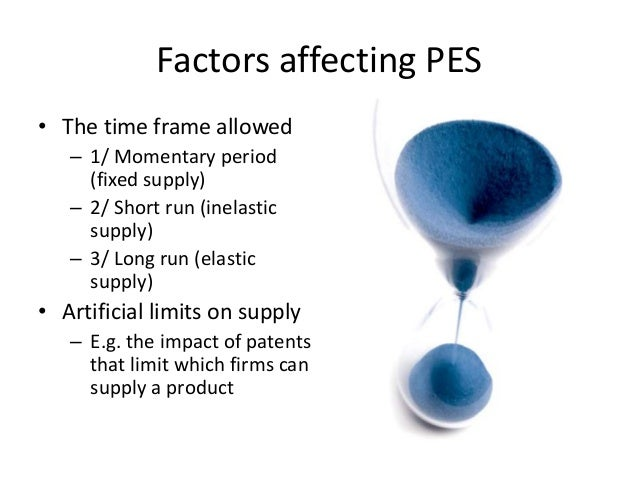 determinants of price elasticity of supply pdf
