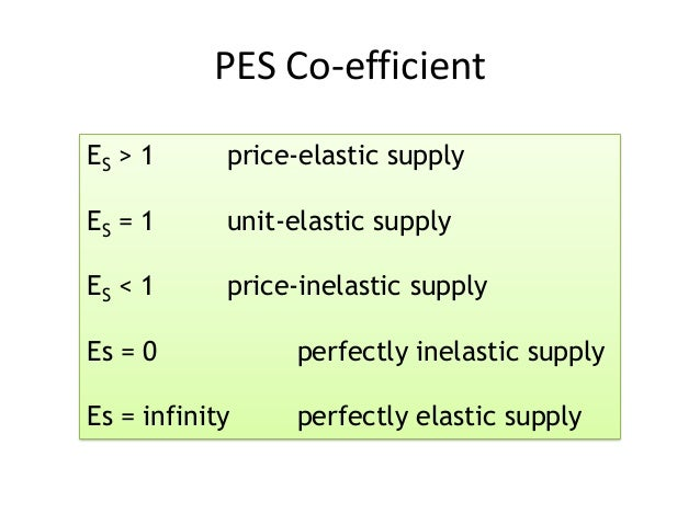 price elasticity of supply There are several types of elasticity in this article, we discuss about them  the price elasticity of supply is the proportional change in the quantity supplied,.