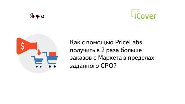 Часть Как с помощью PriceLabs получить в 2 раза больше заказов с Маркета в пределах заданного CPO?