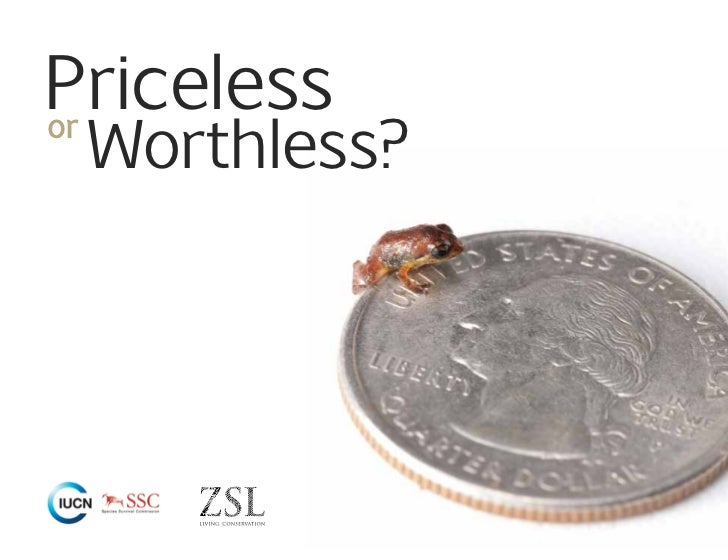 Priceless Worthless?or