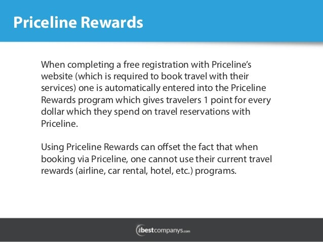 On confirmed reservations for hotel rooms or rental cars, Priceline has no blanket cancellation policy. The individual hotel or rental car company controls cancellation policies.