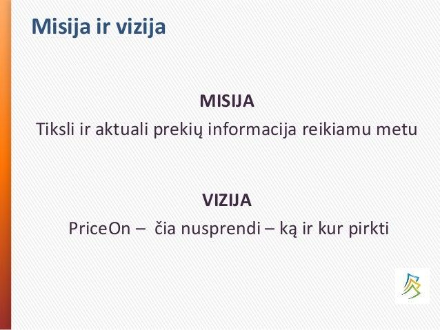 PriceOn pitch'o prezentacija Slide 2