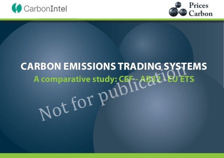 ca ti  on                    ub   li            or    p      o tfCARBON EMISSIONS TRADING SYSTEMS    N  A comparative stud...