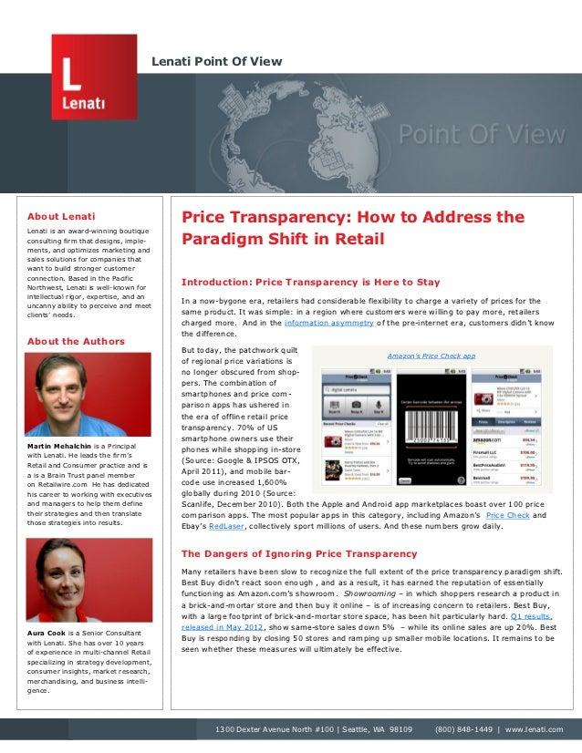 Lenati Point Of ViewAbout Lenati                            Price Transparency: How to Address theLenati is an award-winni...