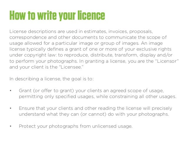 Pricing And Commercial Photography Contract