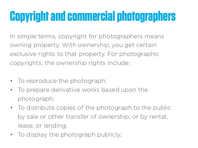 Pricing and Commercial photography – Photography Copyright Release Form