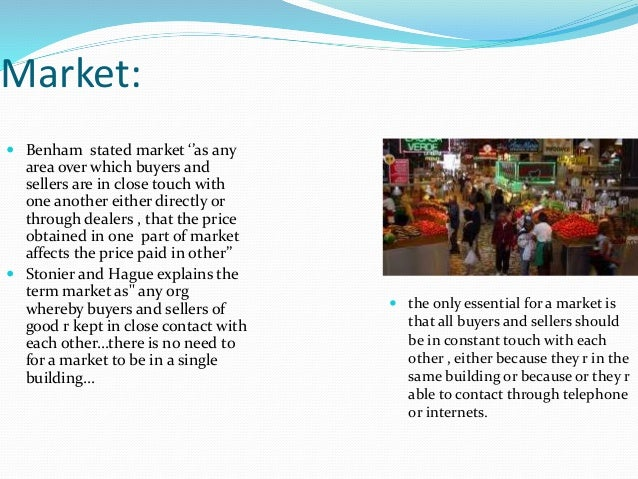 Pricing and markets Slide 3