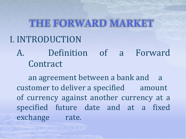 Pricing Forward Future Contracts