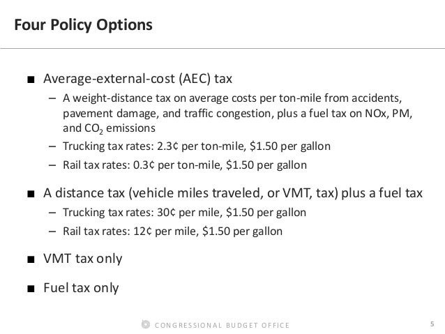 pricing freight transport to account for external costs